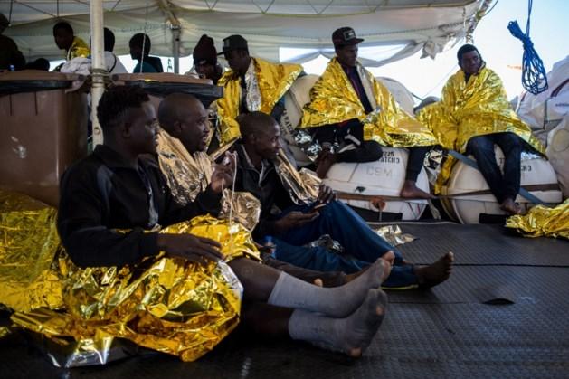 170 migranten omgekomen bij twee schipbreuken op Middellandse Zee