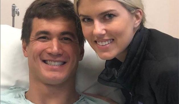 Amerikaanse zwemkampioen Nathan Adrian heeft teelbalkanker maar blijft ambitieus