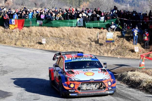 Rally van Monte Carlo annuleert rit wegens té veel toeschouwers