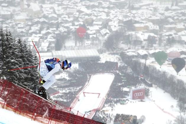 Legendarische afdaling in Kitzbühel is prooi voor Italiaan Paris