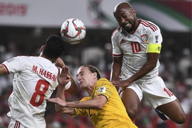 Verenigde Arabische Emiraten kegelen topfavoriet Australië uit Asian Cup