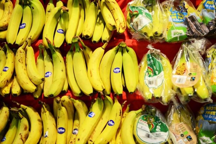 Tien kilo cocaïne tussen bananen in Colruyt Sint-Truiden