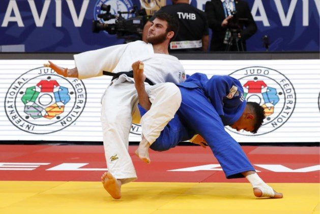 Judoka Sami Chouchi verovert bronzen medaille Grand Prix Tel Aviv