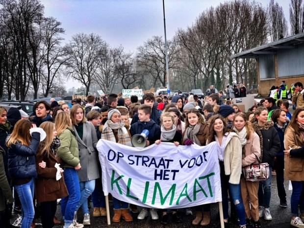 1.300 leerlingen demonstreren in Sint-Truiden voor beter klimaat