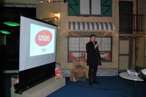 Unizo Pelt deelt nieuwjaarswensen uit