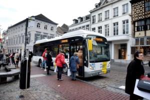 Laatste bussen rijden dit weekend op Grote Markt in Hasselt