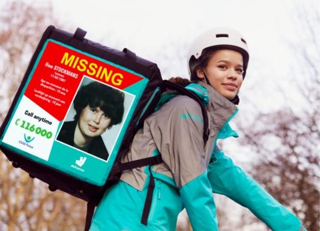 Deliveroo helpt zoektocht naar Marijke Francis uit Gingelom en andere langdurig vermiste kinderen