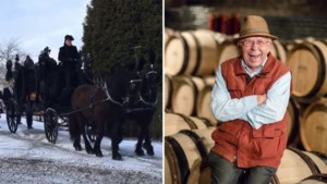 """Jaap Van Rennes, vaandeldrager van Limburgse wijnbouw, is begraven: """"Hij was altijd goedlachs"""""""
