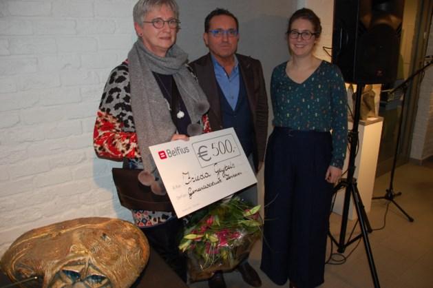 Cocon-kunstenares Frieda Geybels wint kunstprijs Jos Elsen