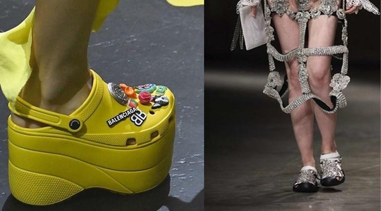 Gekker moet het niet worden: deze handtas is een ode aan Crocs