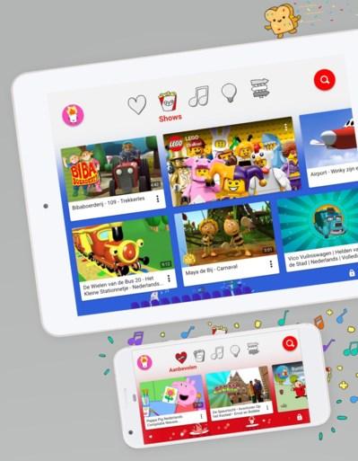 Kinderversie YouTube gelanceerd in België