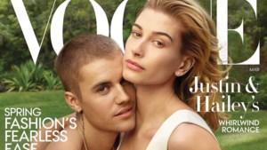 """Pasgetrouwde Justin Bieber en Hailey Baldwin samen op Vogue-cover: """"Ik ben emotioneel onstabiel"""""""