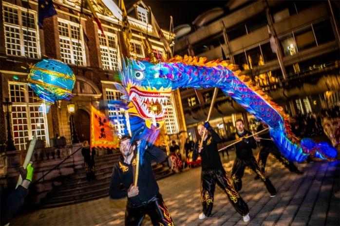 Chinees nieuwjaar ook gevierd in Hasselt