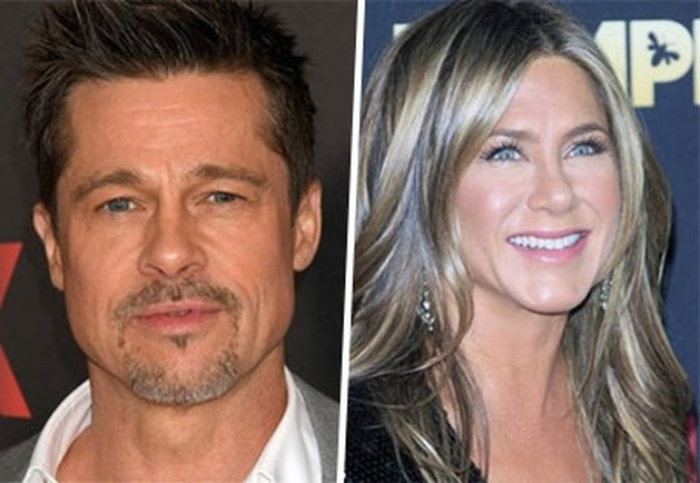 Brad Pitt gespot op verjaardagsfeestje Jennifer Aniston