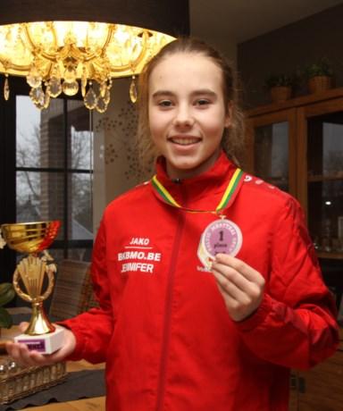 Jennifer pakt eerst titel in Vilnius