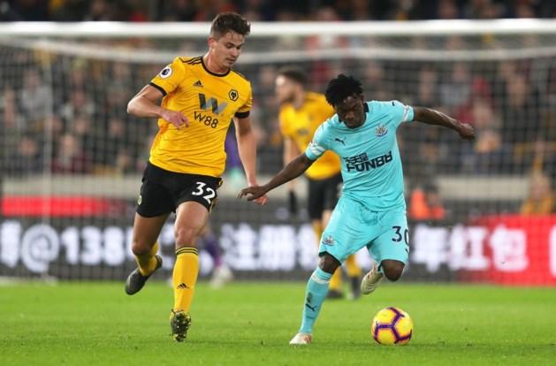 Dendoncker pakt met Wolverhampton in extremis punt tegen Newcastle
