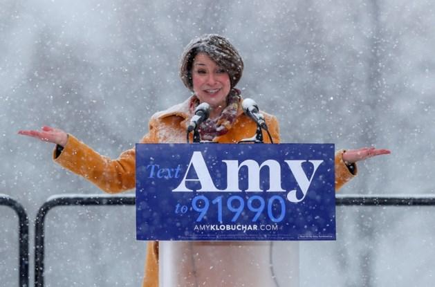 Amy Klobuchar doet als tiende Democrate gooi naar presidentschap en vecht meteen robbertje uit met Trump