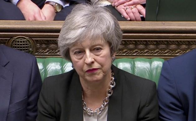 Britse premier May verwerpt voorstel Corbyn om permanent in douane-unie te blijven