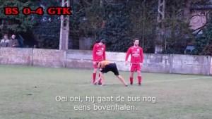 """VIDEO. """"Hij gaat hem opeten!"""": supporters zorgen voor hilariteit tijdens wedstrijd in vierde provinciale"""