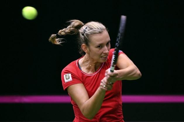 Mertens herpakt zich in Doha na teleurstellend Fed Cup-weekend