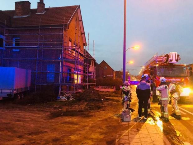Schouwbrand in Heppen: schade blijft beperkt