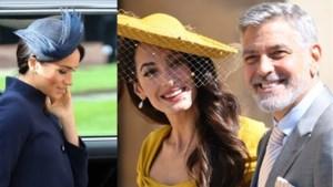 """George Clooney neemt het op voor Meghan Markle: """"Ze wordt achtervolgd op dezelfde manier als prinses Diana"""""""