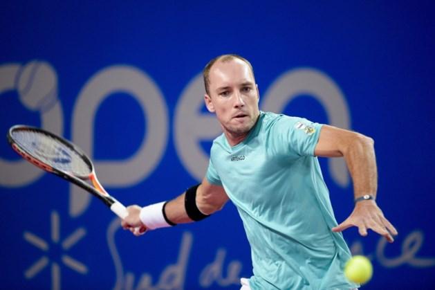 Steve Darcis bereikt achtste finale in Challenger Cherbourg na opgave van Arthur De Greef