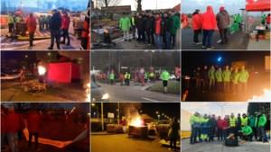 Vakbonden leggen industrieterreinen in Limburg plat