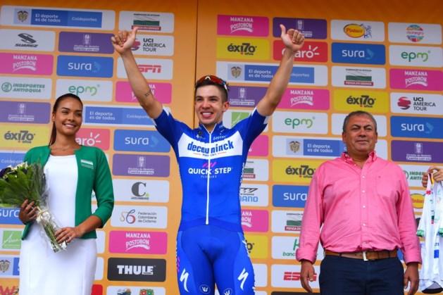 Alvaro Hodeg zet zegeteller Deceuninck- Quick Step op 5 in Ronde van Colombia