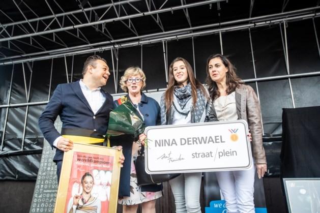 Dan toch geen eigen straat of plein voor Nina Derwael