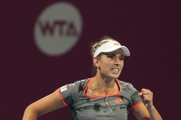 Elise Mertens stunt opnieuw in Doha en plaatst zich voor finale tegen Simona Halep