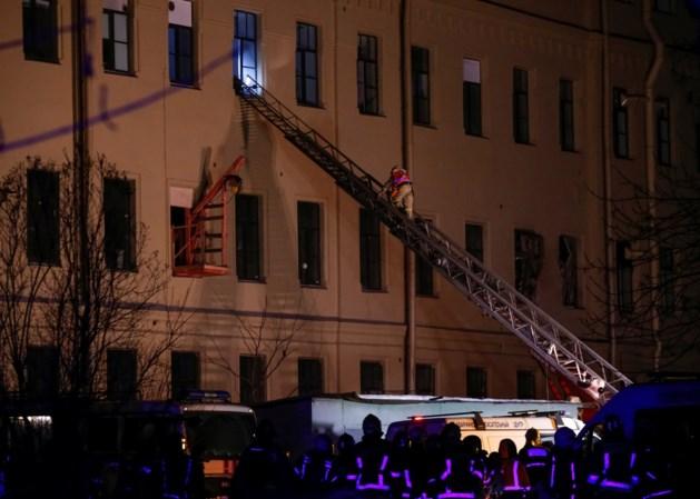Universiteitsgebouw in Sint-Petersburg gedeeltelijk ingestort