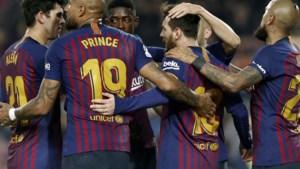 Thomas Vermaelen mag nog eens 90 minuten spelen bij Barcelona, dat met het kleinste verschil wint van Real Valladolid