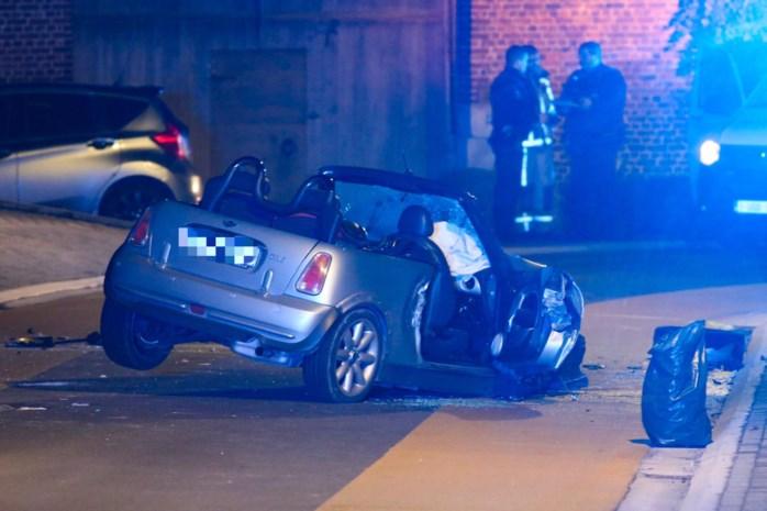 Drie gewonden bij zwaar ongeval in Mal
