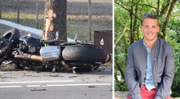 """28-jarige Lommelaar overleden na klap tegen boom met motor: """"Toen hij hier thuis vertrok was hij nog zo gelukkig"""""""