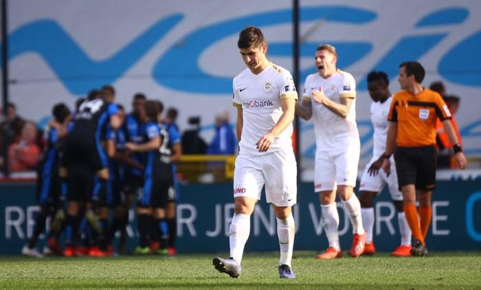 KRC Genk loopt blauwtje tegen Club Brugge