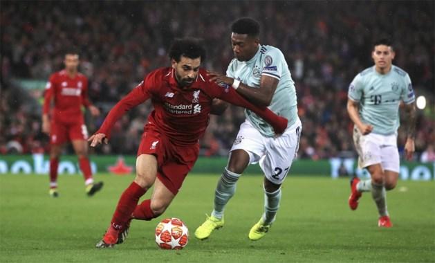 Liverpool domineert, maar vergeet het af te maken tegen Bayern München