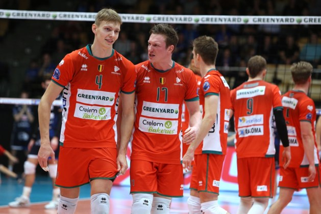 Top vier laat geen punten liggen in EuroMillions Volley League