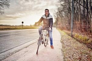 Extra brede fietspaden langs heringerichte Deusterstraat