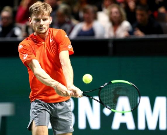 Ook in Rotterdam verliest Goffin in eerste ronde: Belgische nummer één zakt naar laagste ranking in meer dan vier jaar