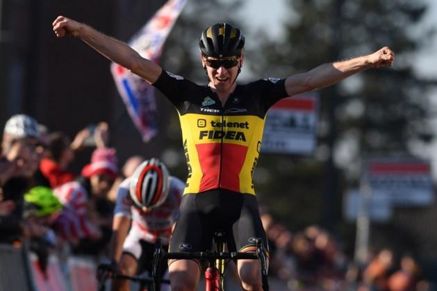 Toon Aerts vloert Tom Meeusen in de sprint en schrijft bijzonder spannende Soudal Classic Leuven op zijn naam