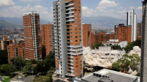 Toeristische trekpleister verdwenen in drie seconden: Colombia blaast gebouw op waar Pablo Escobar woonde