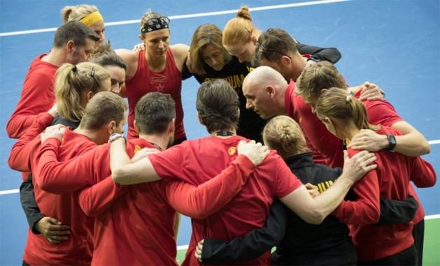 België ontvangt Spanje in Kortrijk voor barrageduel Fed Cup