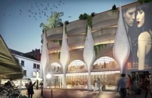 Hasselt krijgt nieuw woon- en winkelcomplex met wel zeer opmerkelijke gevel