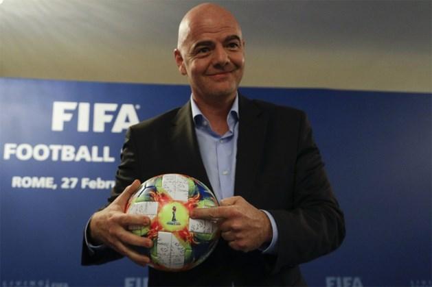 """FIFA-baas Gianni Infantino wil WK in 2022 met 48 landen en met """"enkele wedstrijden"""" buiten gastland Qatar"""