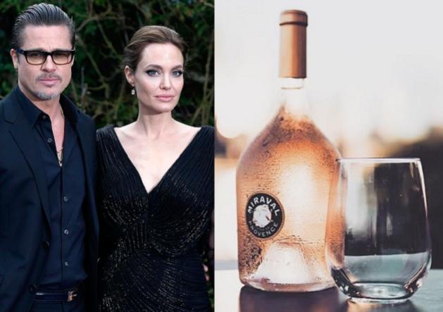 Gescheiden Brad Pitt en Angelina Jolie maken nog steeds samen wijn