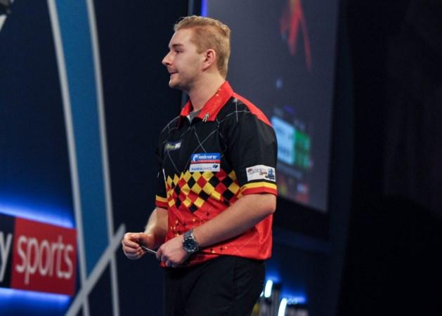 Dimitri Van den Bergh en Kim Huybrechts zitten bij laatste 32 op UK Open darts