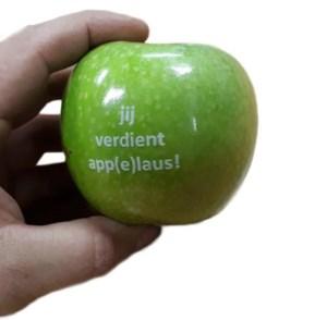 Provincie geeft complimentjes met Franse appels