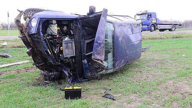 Drie gewonden bij zwaar ongeval in Gingelom