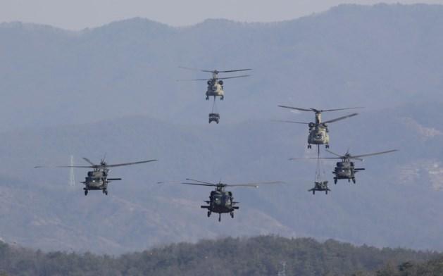 """""""Amerikaans leger zet grote militaire oefeningen met Zuid-Korea definitief stop"""""""